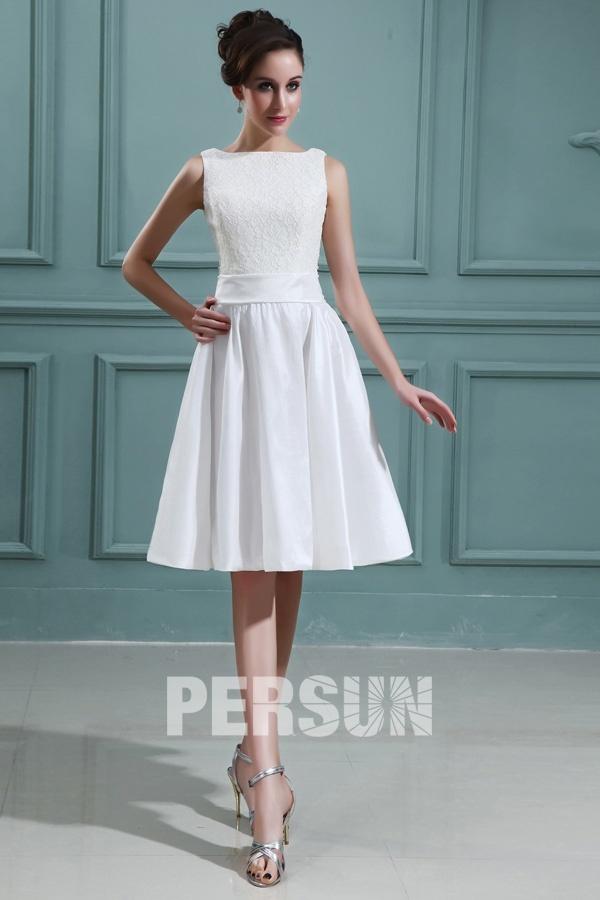 rein und frei elegant weißes Kleid