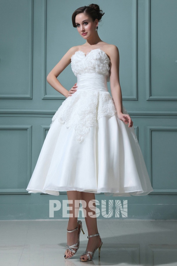 Robe de mariée décolleté en coeur