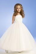 Vestido Princesa/Linha A Alcinhas Vestidos longos chiffon Vestido de daminha