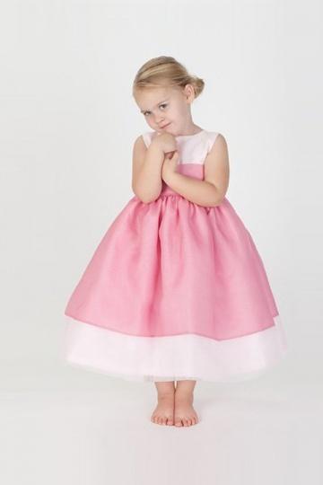 Carino Rose Vestito da Cerimonia Bambina in Ventita Online 7945daeb047