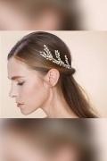 3 Stück Haargesteck Haarnadeln Braut Strass Tiara