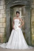 Applikation verziertes Brautkleider 2015 aus Satin