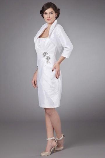 robe rose p le fourreau courte bustier pliss pour m re de mari e. Black Bedroom Furniture Sets. Home Design Ideas