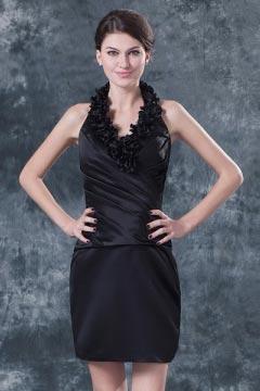 Yarmouth Sheath Halter V neck Laser Flower Mother Gown