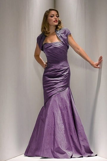 Strapless Mermaid Long Mother of the Bride Dress with Jacket