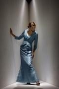 Sirena V collo lunghezza completa Abito da Mamma Sposa Disegnata alla Moda