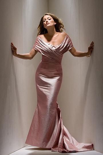 Langes Gerade Meerjungfrau Abendkleid aus Taft mit trennbarer Stola Persun