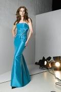 Elegantes Gerade Ausschnitt Meerjungfrau Stil Brautmuttermode mit Bolero