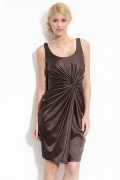 Fabulous Stretch Charmeuse Sheath Jewel Neckline Mother of the Bride Dress With Lace Jacket