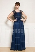 Elegant Floor Length False Two Pieces Mother of the Bride Dress With Jacket