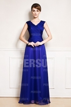 Royalblaues abendkleid kurz