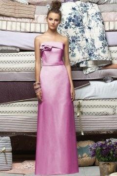 Biggleswade Strapless Ruched Hot Pink Bridesmaid Dress