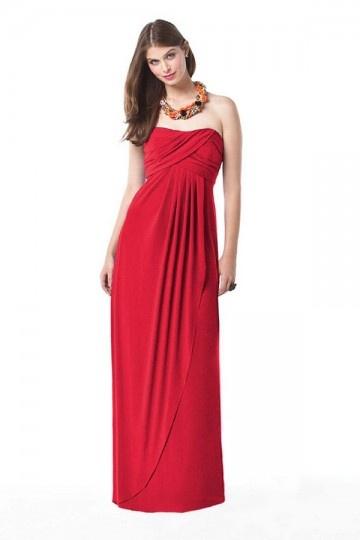 Pleats Ruched Sweetheart Chiffon A line Bridesmaid Dress