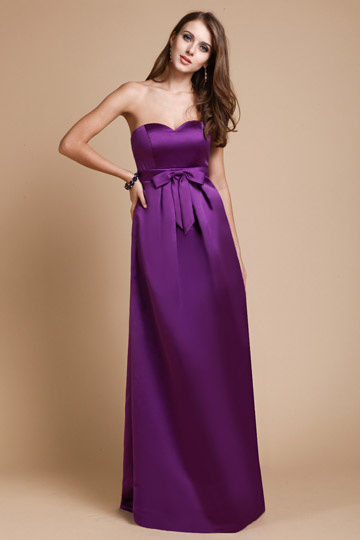 discount purple Bridesmaid Dresses