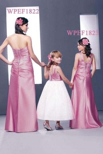 G nstig modernes etui linie bodenlanges rosa abendkleider for Moderne kommunionkleider