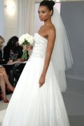 Elegant Fingertip Length Two-tier Drop Wedding Veil