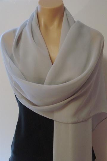 Dressesmall Long Chiffon Wrap (Various Colors)
