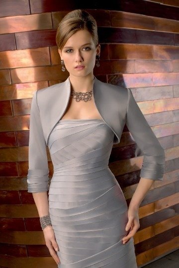 Dressesmall Satin Sleeved Special Occasion Wrap