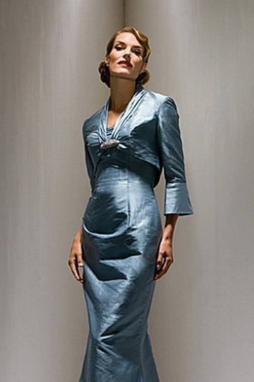 Dressesmall Taffeta Sleeved Wrap