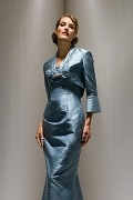 Taffeta Sleeved Wrap