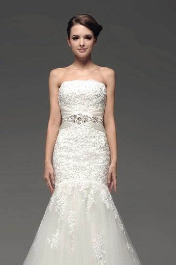 Dressesmall Sleeveless Lace Wedding Wrap
