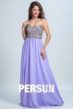 Persun Elegant Sweetheart Long Evening Gown