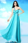 Ruching Sexy Sweetheart Empire A Line Evening Dress