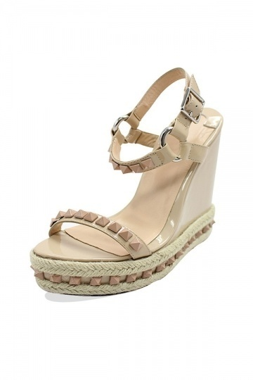 Summer Wedge Sandals with Studs