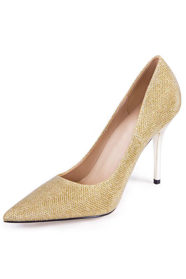 Leder Spitz Stiletto Schuhe