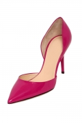 Fuchsie High Heel Spitz Lackleder Pumps