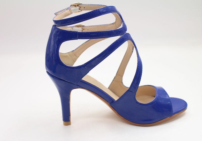Chic Schuhe in Blau