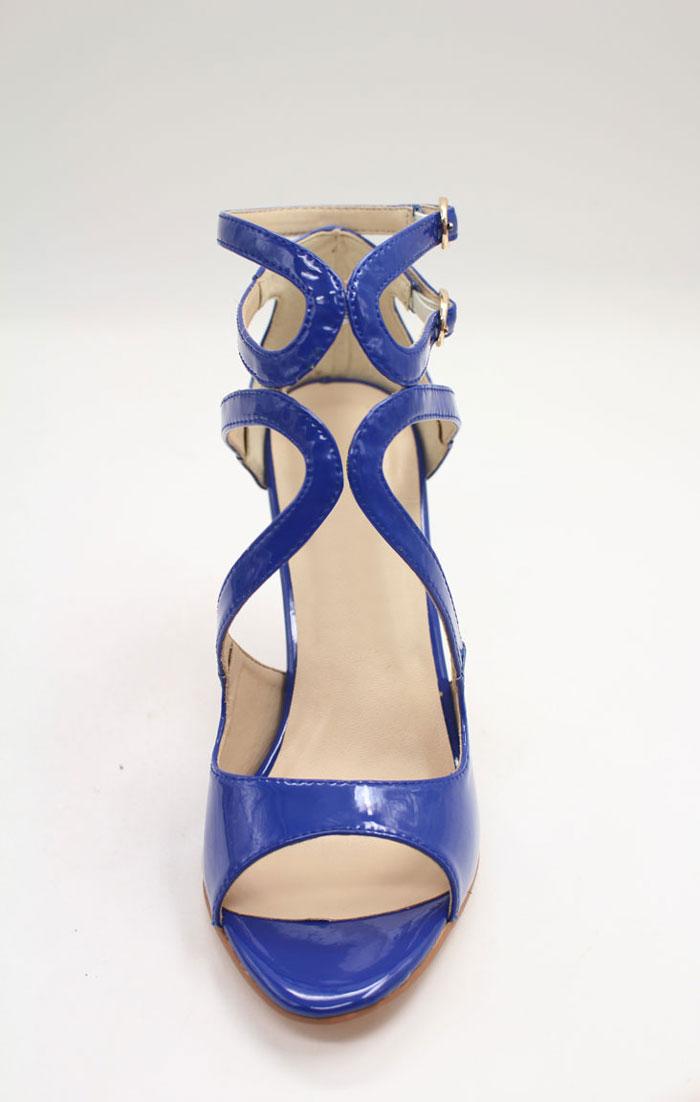 Elegante Sandalen in Blau