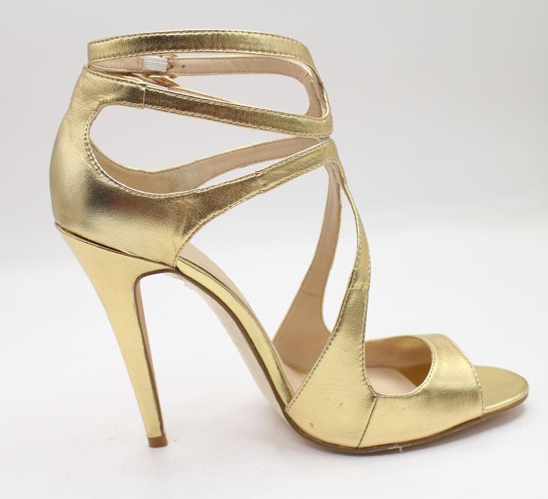 Elegante Schuhe in Gold