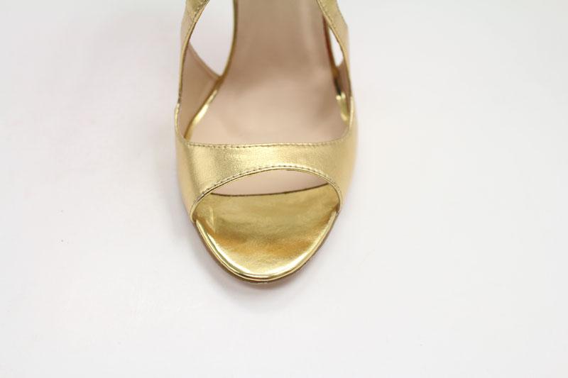 Chic Schuhe in Gold