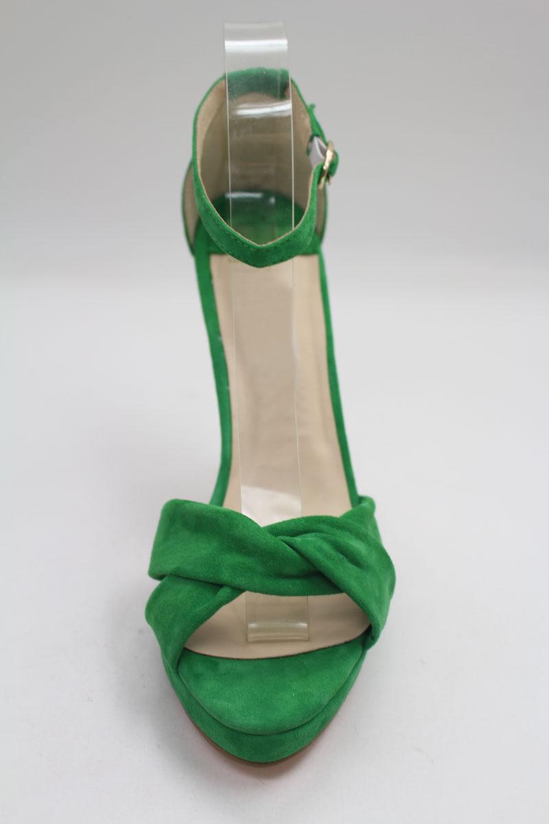 Modisches Grünes High Heels