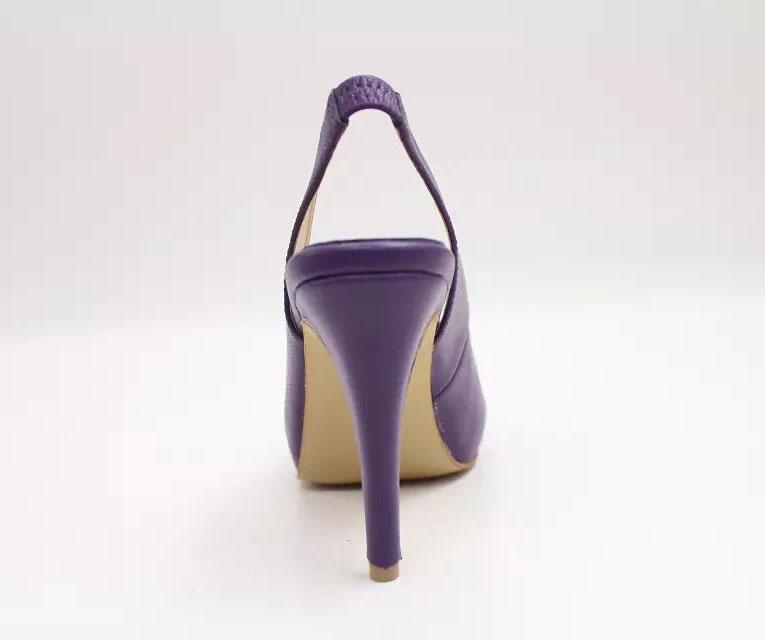 Elegantes Sandalen in Lila