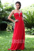 Persun Modern Sweetheart Ruching Formal Evening Dress