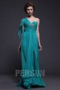 Persun Chic Long one Shoulder Formal Evening Dress
