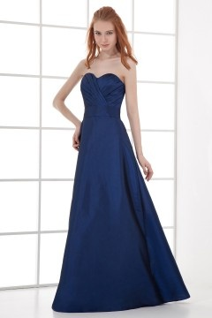 Bletchley Strapless Empire waist Taffeta Floor length Bridesmaid Gown