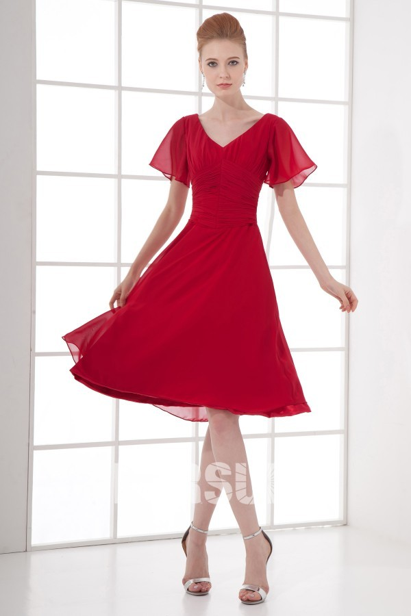 ... cherche robe empire robe rouge robe cocktail de mariage robe mi longue