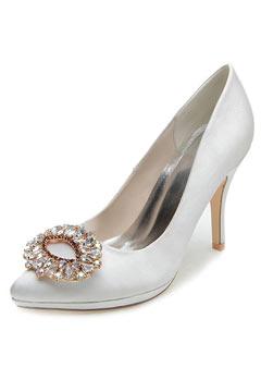 Escarpins rhinestones pour la mariée