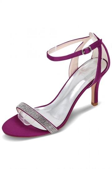 g nstig schicke lila sandalen f r hochzeit online verkauf persun. Black Bedroom Furniture Sets. Home Design Ideas