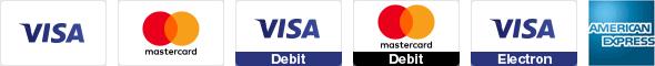 les cartes bancaires de crédit ou débit acceptables sur persun.fr