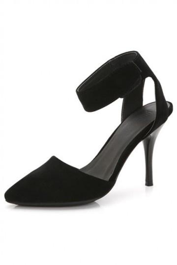 Schwarz Rote Sohle Schuhe Persun