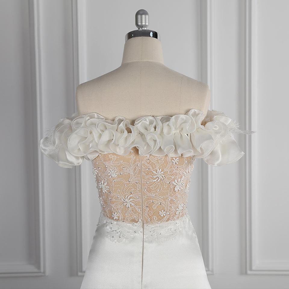 robe de mariée bardot 2021