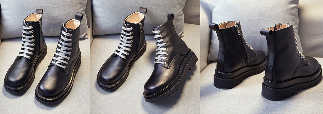boots femme noir mode