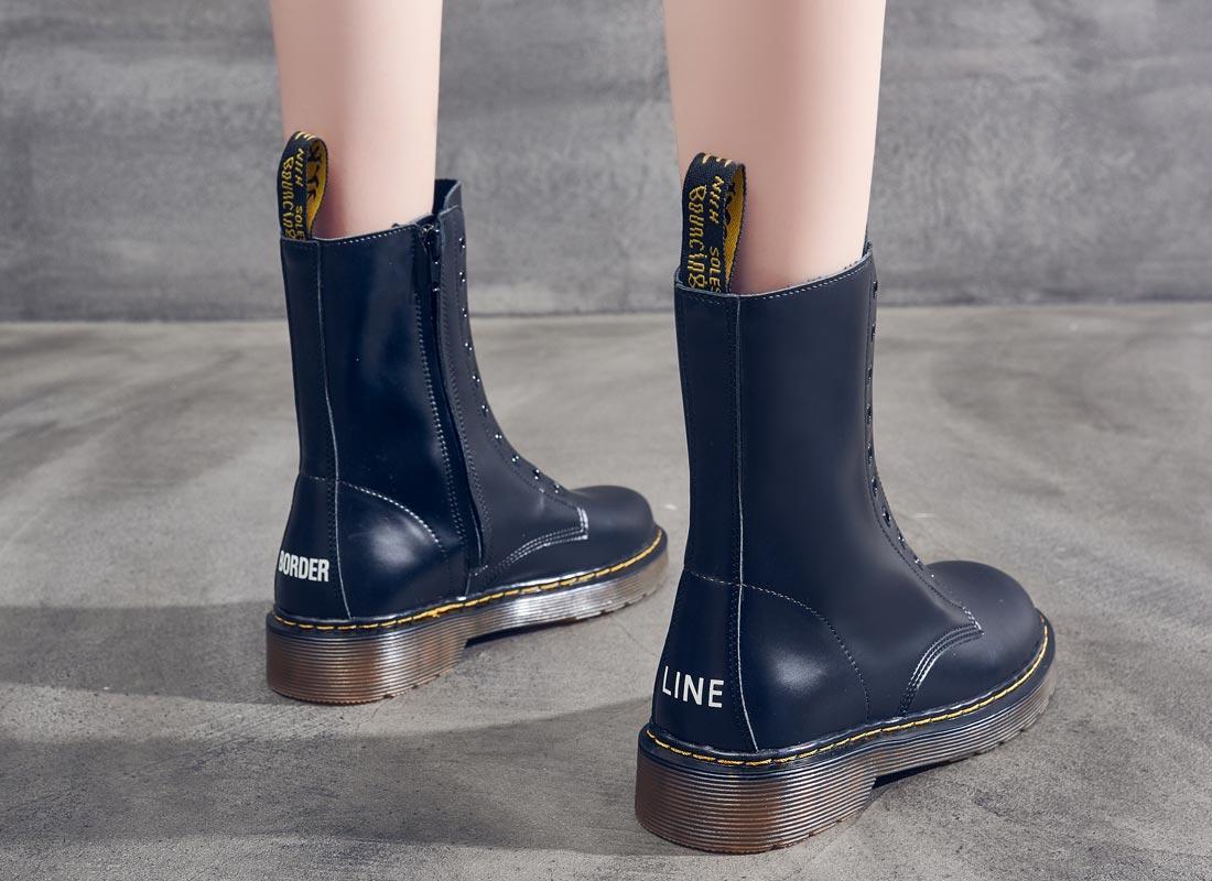 boots femme noir pas cher