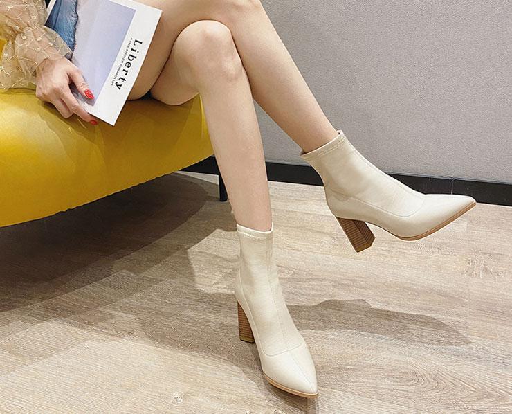 boots femme talon haut