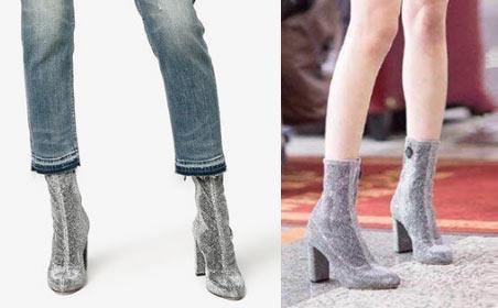 comment porter les bottines chaussettes en tendance bottine femme pas cher