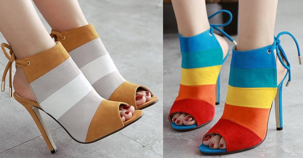 sandale peep-toe bottine bout ouverte pas cher livraison rapide